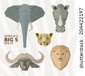 africa's big 5 animals