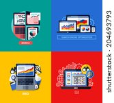 modern flat vector concepts of...