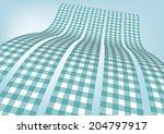 aquamarine gingham   check... | Shutterstock .eps vector #204797917