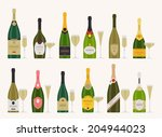 vector set of different... | Shutterstock .eps vector #204944023