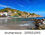 summer view of saint andrea... | Shutterstock . vector #205021093