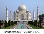 taj mahal  india | Shutterstock . vector #205046473