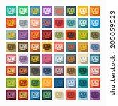 flat design  score board | Shutterstock . vector #205059523