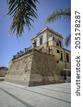 italy  sicily  mediterranean... | Shutterstock . vector #205178287