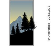 mountain landscape | Shutterstock .eps vector #20521073