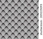 vector background  unusual... | Shutterstock .eps vector #205225093