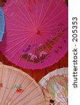 image of parasols taken china...