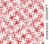 abstract seamless pattern  | Shutterstock .eps vector #205632877