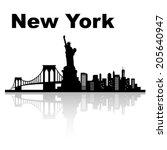 america,architecture,bridge,brooklyn,brooklyn bridge,building,business,city,cityscape,downtown,famous,finance,full view,harbor,illustration