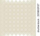 background east pattern   Shutterstock .eps vector #205803937