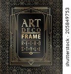 Art Deco Geometric Vintage...