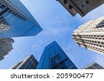 look up to the sky with... | Shutterstock . vector #205900477
