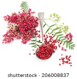 Pink Peppercorns In A Spoon...