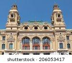 monte carlo  monaco   may 1 ... | Shutterstock . vector #206053417