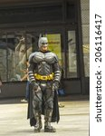 Постер, плакат: Batman character in Times
