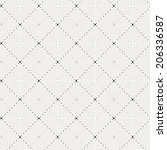 crossing dot pattern  | Shutterstock . vector #206336587