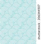 crossed circle pattern    Shutterstock . vector #206344507
