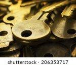 Many Brass Keys. Many Brass...