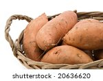 Sweet Potatoes In A Basket...