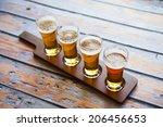 beer tasting | Shutterstock . vector #206456653