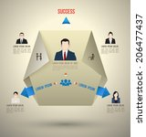 modern business infographics...