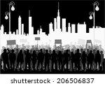 manifestation | Shutterstock .eps vector #206506837