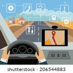 using navigator with modern...   Shutterstock .eps vector #206544883