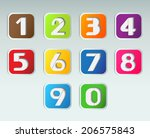 Squares Colorful Numbers Set.