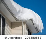 Snow Drift On Roof After Two...