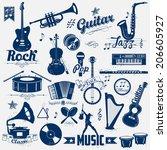 Illustration Of Retro Music...