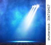 background in show. vector... | Shutterstock .eps vector #206710417