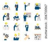coleção,projecto,engenheiro,engrenagem,mão,disco rígido,tem,capacete,idéia,interface de,máquina,gestão,de marketing,ícone,processo