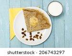 homemade gluten free buckwheat... | Shutterstock . vector #206743297