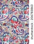patterns fabric   Shutterstock . vector #206783863