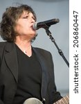 Small photo of LINCOLN, CA - July 19: Martha Davis and the Motels perform in support of the Replay America Tour at Thunder Valley Casino Resort in Lincoln, California on July 19, 2014