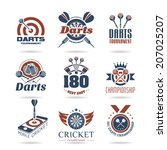 Darts Icon Set   2