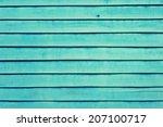 wooden aqua color.   Shutterstock . vector #207100717