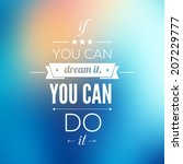 You Can Do It Quote...