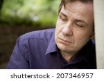 pensive man | Shutterstock . vector #207346957
