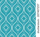abstract geometric pattern. a...   Shutterstock . vector #207407257