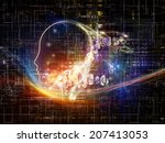 artificial intelligence series. ... | Shutterstock . vector #207413053