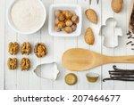 dessert ingredients and... | Shutterstock . vector #207464677
