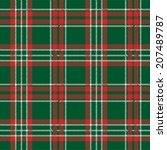 tartan  plaid seamless pattern. ... | Shutterstock .eps vector #207489787