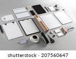 photo. template for branding... | Shutterstock . vector #207560647
