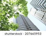 apartment and fresh green | Shutterstock . vector #207665953