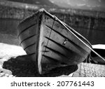 Row Boat On A Dry Dock