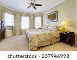 light tones bedroom interior... | Shutterstock . vector #207946993