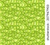 vector seamless abstract... | Shutterstock .eps vector #207967903