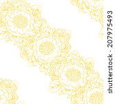 abstract elegance seamless...   Shutterstock .eps vector #207975493