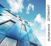 abstract building. building... | Shutterstock . vector #207984547